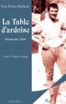 LA TABLE D'ARDOISE, Silvalonia 1959 - YVES PORTIER-RETHORÉ
