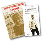 Pack des deux livres sur Alfred Dreyfus
